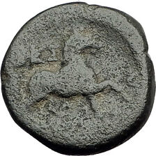 LARISSA Thessaly Ancient Greek Coin for THESSALIAN LEAGUE - ATHENA HORSE i62521
