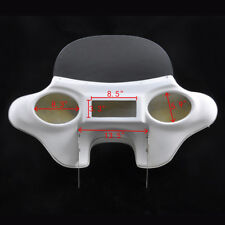 Detachable Batwing Fairing 6x9 White Speaker For Harley Davidson Road King 94 UP
