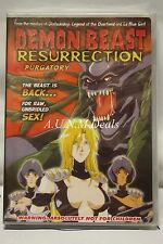 DEMON BEAST RESURRECTION:PURGATORY ntsc import dvd English subtitle