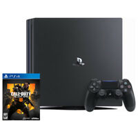 PlayStation 4 Pro 1TB Console Black + Call of Duty: Black Ops 4