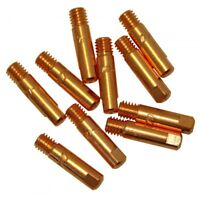 MB15AK Welding Contact Tips 0.6 - 1.2mm MIG Welder Torch Consumables M6 x 10pcs.