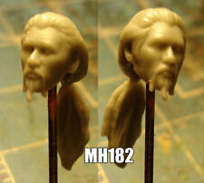 "MH182 Custom Cast Male head for use with 3.75"" GI Joe Star Wars Marvel figures"
