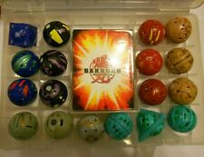 Bakugan Collection 18 Brawlers + 24 Cards + Collector Case (F)