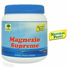 NATURAL POINT Magnesio Supremo 300 gr Antistress con Mag Citrato e Carbonato