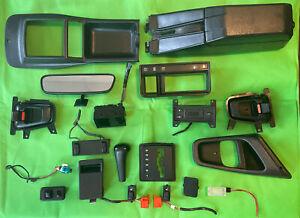 Merkur xr4ti Parts Lot Console Switch Handle Clock Knob Pocket Light Bezel 85-89