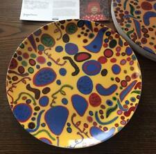 MoMA Yayoi Kusama plate made of ceramic
