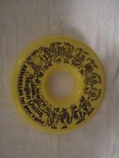 Morgan Quinn Armadillos for guys' n gals! Shoe Advertising Yellow Frisbee