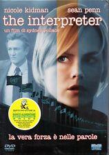 THE INTERPRETER - DVD (NUOVO SIGILLATO) SLEEPCASE