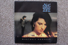 """7"""" VINYL SINGLE, ALL ABOUT EVE, MARTHA'S HARBOUR, ANOTHER DOOR,  POP, EXC COND"""