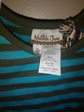 (#120) Matilda Jane little girl top. 12 mos.  Nwt and bag.
