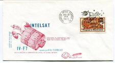 1973 Intelsat IV-F7 Comsat Kennedy Space Center Orbit 22,300 Miles Equator SAT