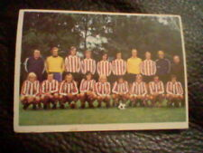PSV EINDHOVEN NEDERLANDEN   football SPANISH card ED.  FHER 1975 unsticked