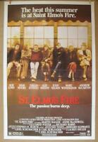 ST. ELMO'S FIRE 1985 Authentic One Sheet Movie Poster Rob Lowe Demi Moore