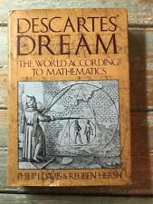 Descartes' Dream: The World According To Mathematics 1986 Davis & Hersh