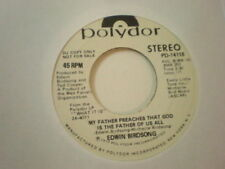 Edwin Birdsong Polydor DJ 14118 My Father Preaches