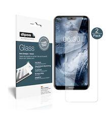 2x Nokia X6 2018 TA1099 Screen Protector Flexible Glass 9H dipos