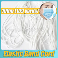 3MM DIY Round Elastic Thin Band Soft Cord Strap String Sewing Rop For Face Ma
