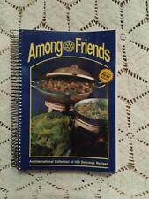 Vintage Cookbook: Among Friends Rotary International Dec 1987 Spiral Bound
