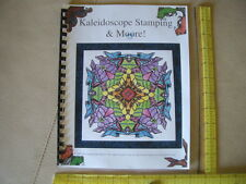 kaleidoscope stamping a how to make rubber stamped images with stamps faux kalid