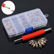 135 pcs 11 kinds Of Assortment A/C Valve Core R134 Kit Remover Assortment Kit