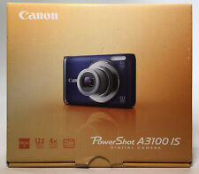 Canon PowerShot A3100 IS 12.1 MP Blue Camera [WITHOUT Charger, Battery, or SD]