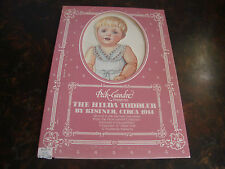 The Hilda Toddler-Paper Dolls-Peck-Gandre Collection-1986-Hard To Find