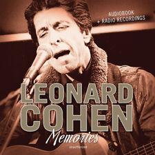 Leonard Cohen : Memories CD (2017) ***NEW***