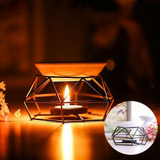 Metal Fragrance Oil Burner Tealight Holder Candle Wax Melt Tart Warmer Gift