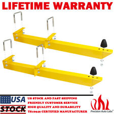 20475 Yellow Summit Racing 770501 Universal Traction Bar Kit Leaf Spring 28Inch