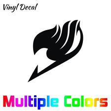 "Fairy Tail Anime Emblem Logo Vinyl Decal Sticker 4"" Tall"