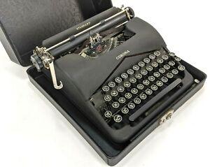 1939 L.C. Smith & Corona Standard Floating Shift Typewriter & Case SN# 2C229882