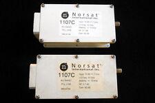 NORSAT PLL LNB 1107C, NII 1000C,PLV-810 10.95-11.7 STABILITY +/- 10 KHZ VSAT