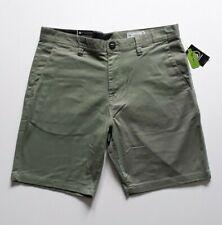 "Volcom - Frickin Modern Straight Shorts - Size 34"" Green Skate Skateboard BMX"