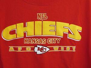 Kansas City Chiefs NFL Football Adult 2XL TShirt Red