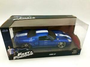 JADA FAST & FURIOUS Ford GT BLUE 1/24 MODEL DIECAST CAR CHILD TOY VEHICLE GIFT
