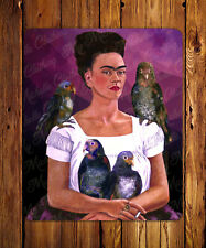 Parrots Mouse Pad - Frida Inspiration