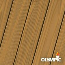 Olympic MAXIMUM Wood Stain and Sealer Transparent Stain1 Gallon Cedar Natural...