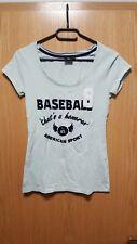 Tara M Damen Oberteil / Shirt / Oberbekleidung / T-Shirt Baseball Gr. S hellblau