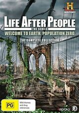 Life After People (DVD, 2015, 6-Disc Set) BRAND NEW REGION 4