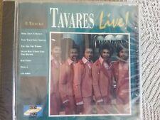 tavares live 8 tracks cd new freepost