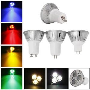 Dimmable LED Spotlight 3W GU10 MR16 E27 E14 E14 B22 Bulb 110V 220V 12V Lamp RD83