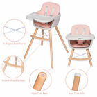 Pink+Baby+High+Chair+Infant+Toddler+Feeding+Booster+Seat+Adjustable+Tray+Safety+