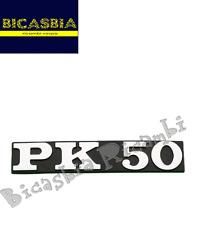 2919 - TARGHETTA IN ALLUMINIO PK 50 PER SPORTELLO COFANO MOTORE PK 50 S XL