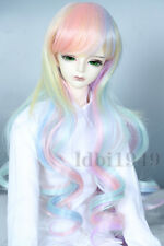 "1/6 6-7"" Bjd Wig Dal BJD SD MSD DOD DD Dollfie Doll Gradient Curly wigs"