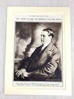 1914 Aufdruck Original WW1 Krieg Zensor Präsident Presse Bureau Zensur Militär