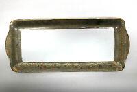 Seltmann Weiden Königskuchenplatte  Saturn Unikat Design Inge Kuba 22 Karat Gold