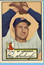 1952 Topps #43 Ray Scarborough BB Boston Red Sox G