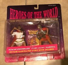Heroes Of The World Roman Legionnaire Hannibal 2 Figure Box NEW factory sealed