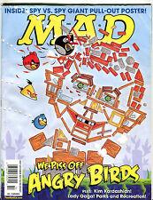 Mad Magazine October 2011 Angry Birds EX 051016jhe