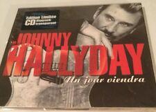 JOHNNY HALLYDAY  UN JOUR VIENDRA  DIGIPACK CD TRANSPARENT ÉDITION LIMITÉE NEUF